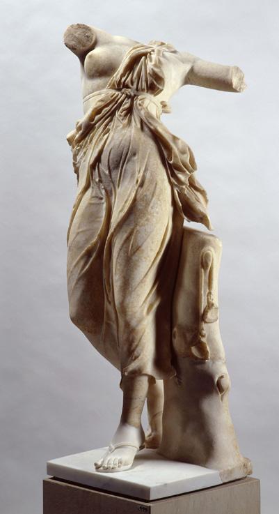 © Foto: Antikensammlung der Staatlichen Museen zu Berlin - Preußischer Kulturbesitz, copy of the Dancing Female Figure of Praxilla