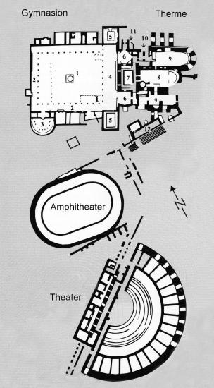 Map of Salamis