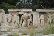 Hadrianic reliefs from the stage front (scaenae frons) of the Theater of Dionysus on the South Slope of the Acropolis, Athens. Image © Carole Raddato.
