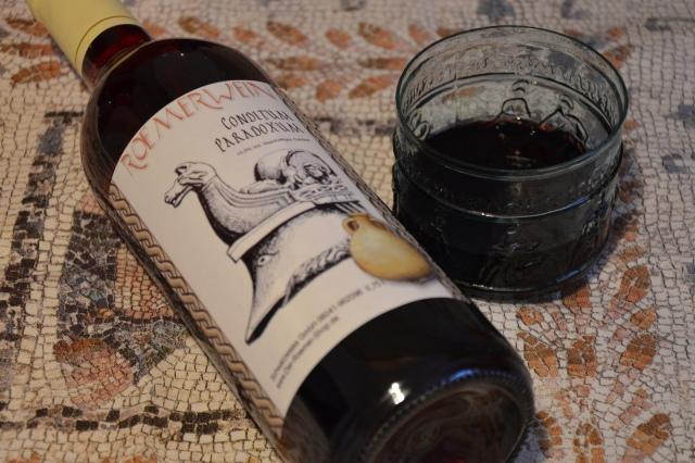 Conditum paradoxum Ancient red wine from Apicius
