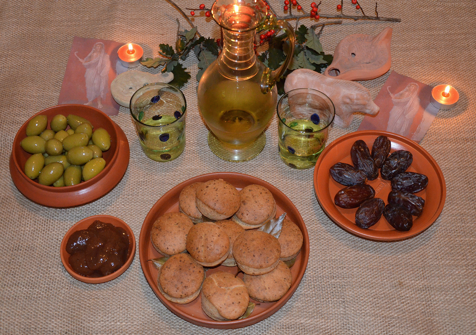 Ancient roman foods food a taste of ancient rome saturnalia feast following hadrian ancient roman food recipes easy forumfinder Images