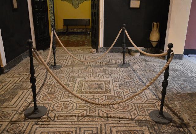 The Medusa Room, Palacio Lebrija, Seville. Image © Carole Raddato.Baetica route mosaics.