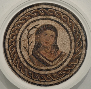 Mosaic with the personification of Autumn, 2nd - 3rd century AD, Museum of Archaeology, Seville