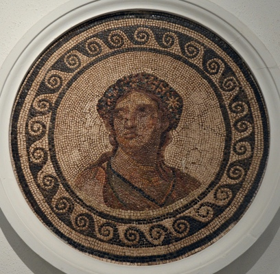 Mosaic with the personification of Spring, 2nd - 3rd century AD, Museum of Archaeology, Seville
