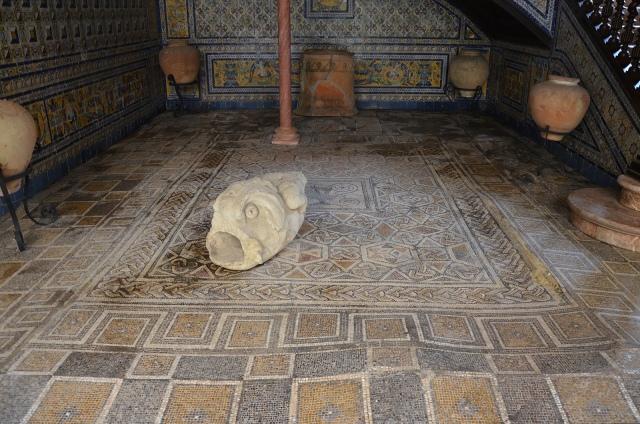 Palacio Lebrija, Seville, Spain. Baetica route. Image © Carole Raddato.