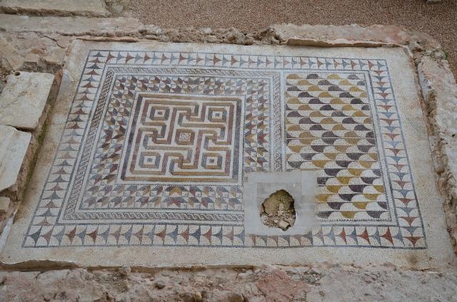 Geometric mosaic, 3rd - 4th century AD, Villa romana de Fuente Álamo
