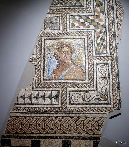 Mosaic, 2nd - 3rd century AD, Museo de la Ciudad de Carmona Courtesy of Li Taipo (CC BY-NC-ND 2.0). Baetica mosaic.