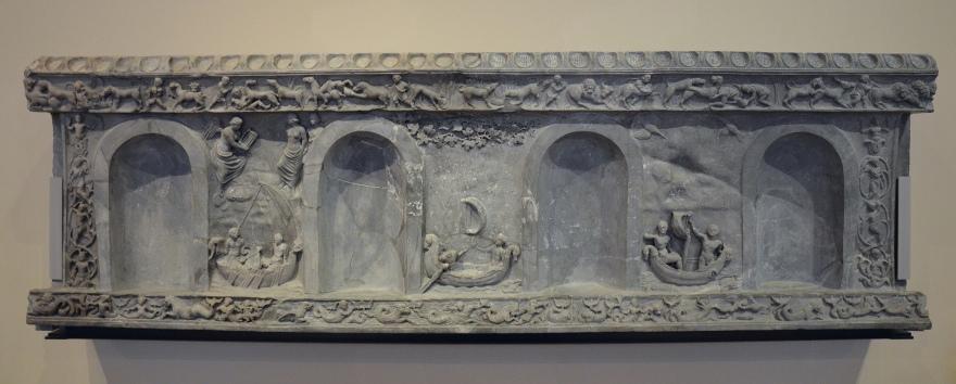 The Lansdowne relief, found at Hadrian's Villa, 120-138 AD, Fitzwilliam Museum, Cambridge