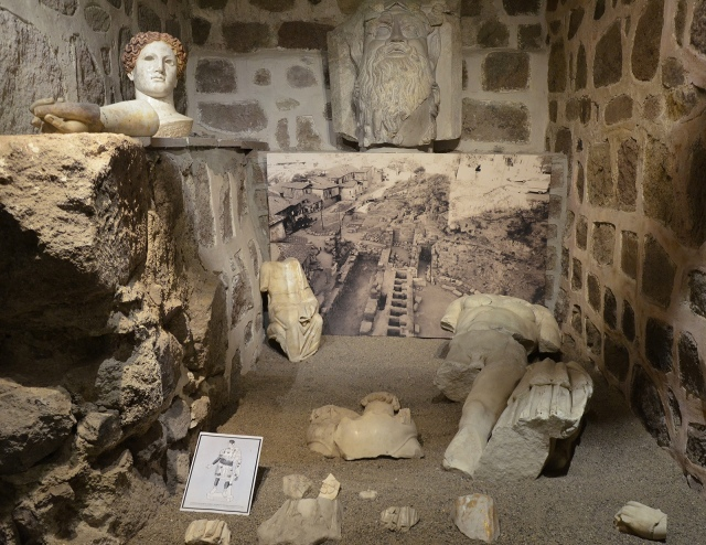 Finds from the Roman theatre of Ancyra (Ankara), Museum of Anatolian Civilizations, Ankara. Image © Carole Raddato.
