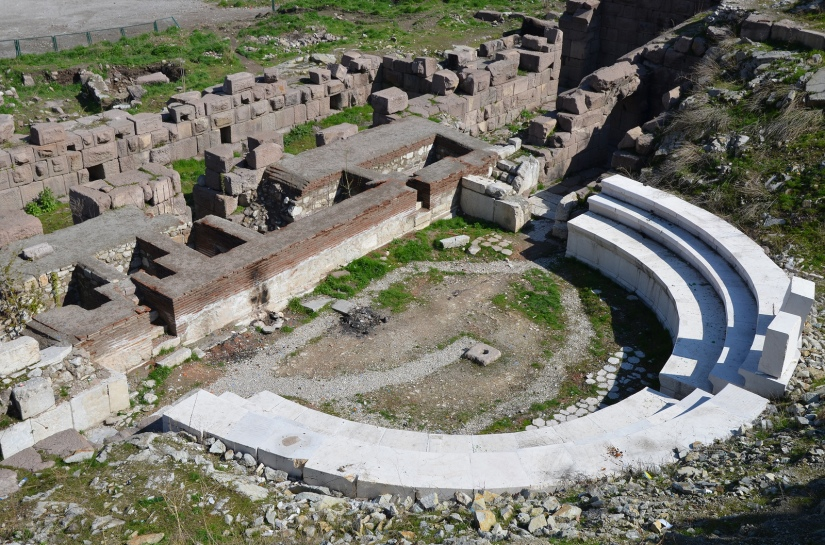 The Roman Theatre of Ancyra, beginning of the 2nd century AD, Ankara