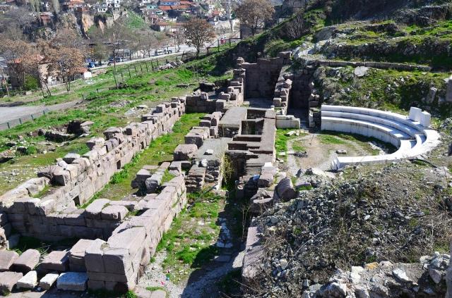 The Roman Theatre of Ancyra, beginning of the 2nd century AD, Ankara. Photo © Carole Raddato.