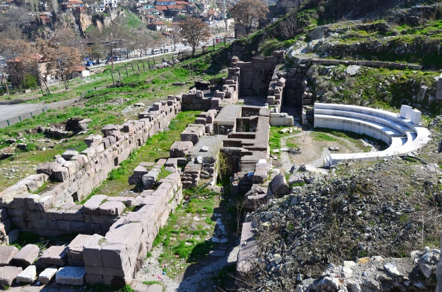 The Roman Theatre of Ancyra, beginning of the 2nd century AD, Ankara. Photo © Carole Raddato.