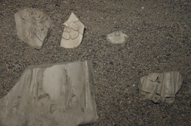 Fragment of a cuirassed statue of Hadrian found in the Roman theatre of Ancyra (Ankara), Museum of Anatolian Civilizations, Ankara. Photo © Carole Raddato.
