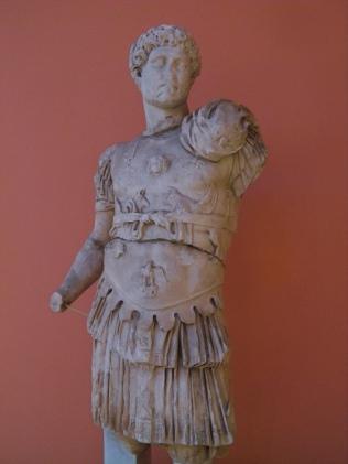 Cuirassed statue of Hadrian, from Perga, around 121 AD, Type: Stazione Termini, Antalya Museum. Photo © Carole Raddato.