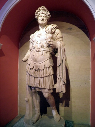 Statue of Hadrian wearing the Corona Civica (Chiaramonti 392 type), from the North Nymphaeum at Perga, Antalya Museum. Photo © Carole Raddato.