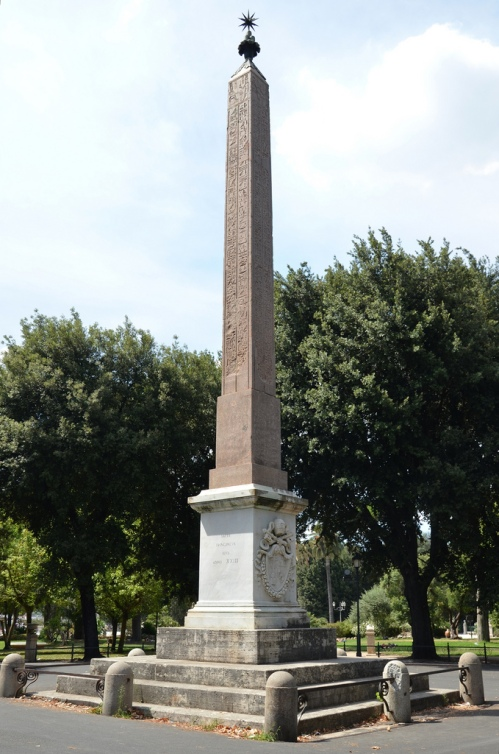 The Obelisk of Antinous.