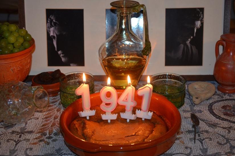 Happy 1941st birthday Hadrian!