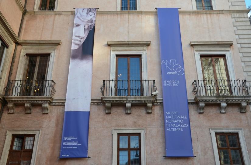 Antinoo. Un ritratto in due parti Museo Nazionale Romano in Palazzo Altemps