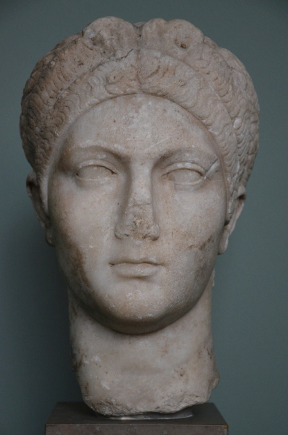 Portrait of Sabina dated to c. 128 AD, Ny Carlsberg Glyptotek, Copenhagen