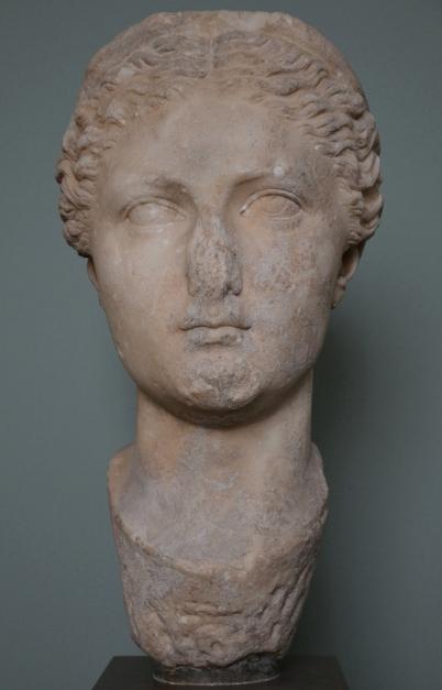 Portrait of Sabina from Ostia, c. AD 117-118, Ny Carlsberg Glyptotek, Copenhagen