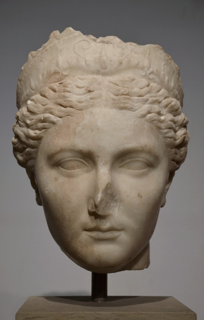 Portrait of Sabina, probably from Asia Minor (Turkey), ca. 130 AD, Altes Museum, Berlin