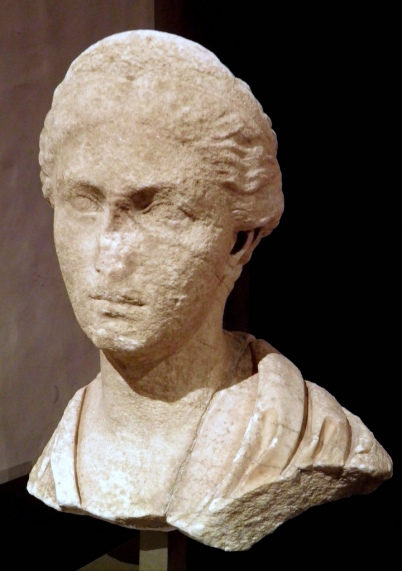 Bust of Sabina found at the Villa Chiragan, 128-137 AD, MSR, Musée Saint-Raymond, Musée des Antiques de Toulouse