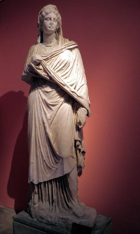 Statue of Sabina from Perga, Antalya Museum